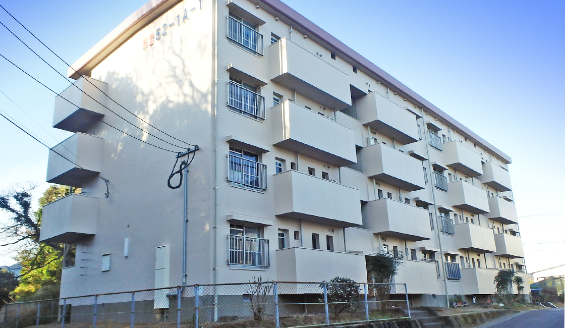 公共工事 市営大園住宅 外壁改修工事