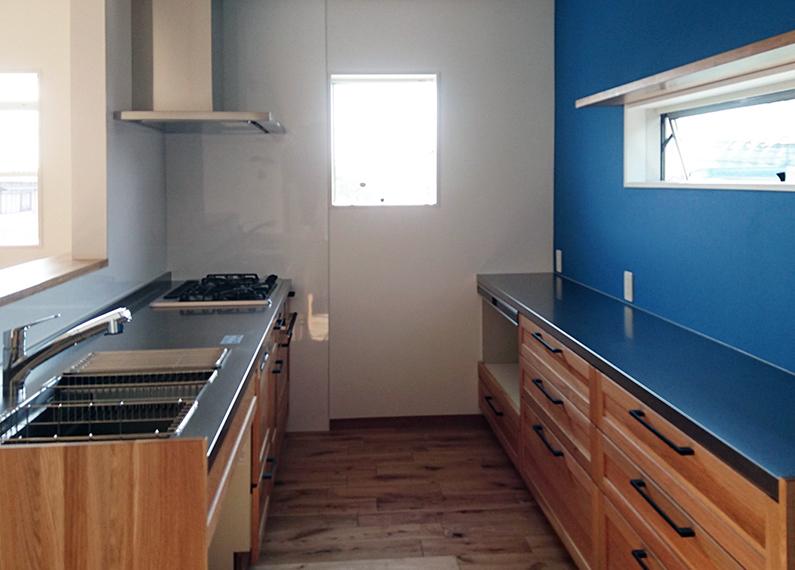 住宅部分キッチン