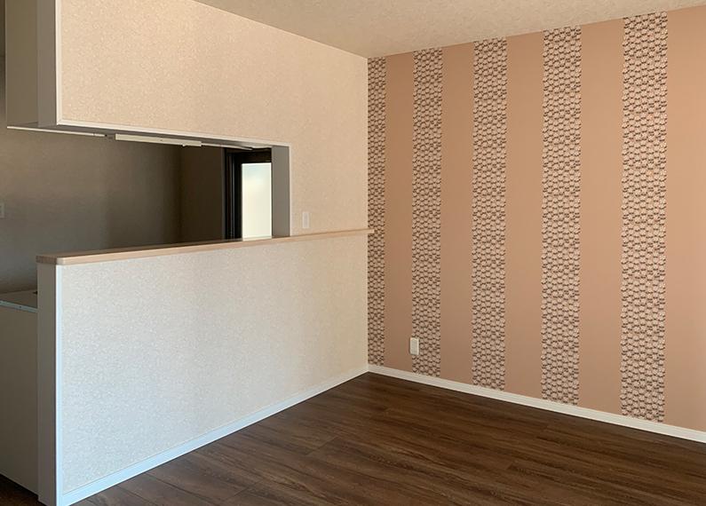 ファミリー向け 新築賃貸木造アパート リビング内装
