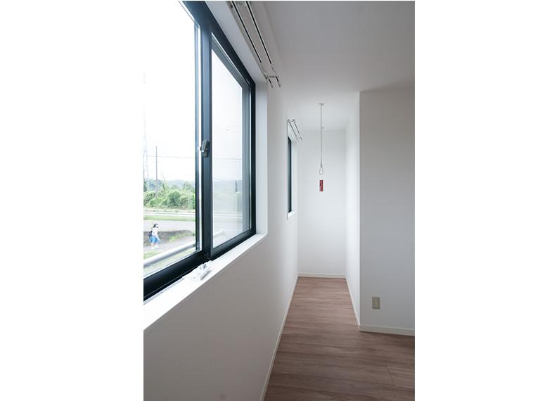 新築賃貸アパート建設施工工事 2階 寝室1 室内干しエリア