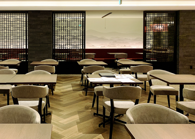 ホテル内中華レストラン 店舗フロア