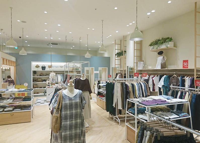 衣料品店 店舗内装・改装工事
