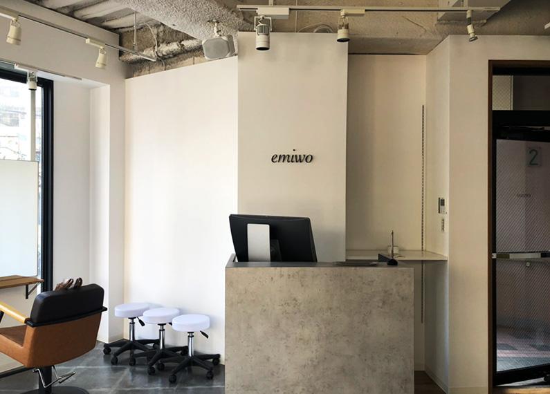 福岡市 美容室 店舗 内装改装工事 外観