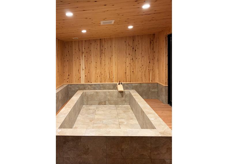 別府グランピングリゾート施設さま 新築工事客室内風呂